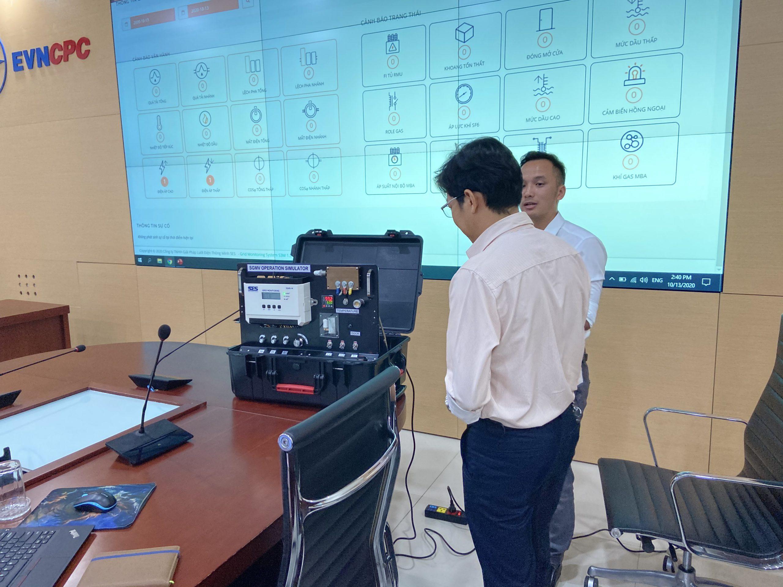 Hệ thống Đo lường, Giám sát, Quản lý trạm biến áp và lưới điện hạ áp Onlne S3M