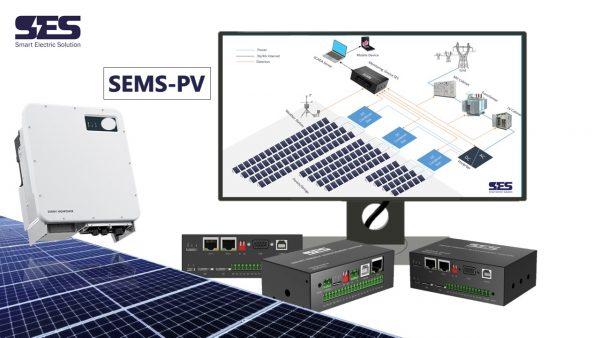 Phần mềm quản lý hệ thống điện mặt trời sems-pv